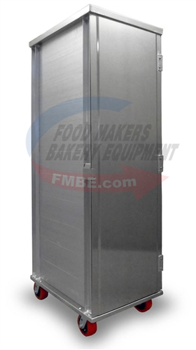 All Aluminum Transit Cabinet 40 Pan Capacity 40 Slides